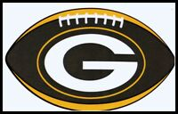 GREEN BAY PACKERS OVAL FOOTBALL NFL DECAL STICKER TEAM LOGO~BOGO 25% OFF