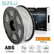 Sunlu ABS filamento nuevo 1.75mm 1.75mm 2.2LBS/1KG con Carrete 3d Impresora Filamento