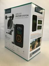 La Crosse Wireless Weather Station With Wind Temperature & Humidity S81120 NEW
