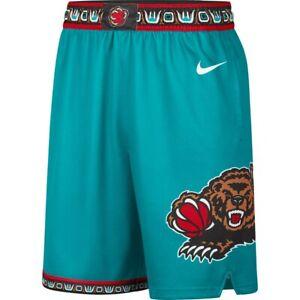 Retro Herren Memphis Grizzlies Stitched Basketball Shorts Sports Swingman S-2XL