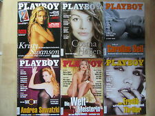 D - Playboy  Jahrgang 2003,  Caroline Beil, Cosma Shiva Hagen, Kristy Swanson