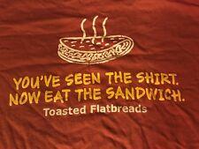 "WAWA ""GOTTAHAVA TOASTED FLATBREAD SANDWICHES"" DOUBLE SIDED Shirt Medium M"