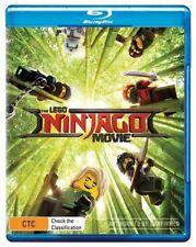 The Lego Ninjago Movie (Blu-ray, 2017, 2-Disc Set)
