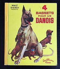 Albums Roses Walt Disney - 4 Bassets Pour Un Danois 1967
