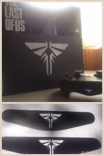 √ The Last Of Us Ps4 Console & Dualshock Lightbar Decal Super Bundle! LOOK! √