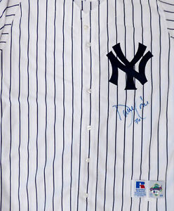 Yankees David Cone Autographed Signed 1997 Russell Jersey Size L Beckett #X87527