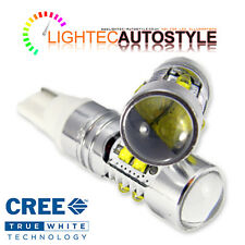 2x Xenon Bianche CREE HIGH POWER CANBUS 50w 501 w5w t10 sidelight lampadine LED 12v