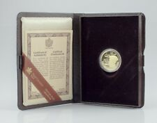 1984 Canada 22k Gold Proof Jacques Cartier Commemorative $100 w/ Case and CoA
