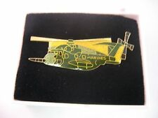 Vintage Lapel Hat Pin: CH-53E Super Stallion Military Helicopter
