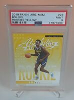 Bol Bol 2019 Panini Absolute Memorabilia Yellow Rookie Card RC SP PSA 9 LOW POP!