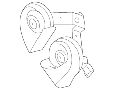 Genuine Ford Horn BC3Z-13832-A