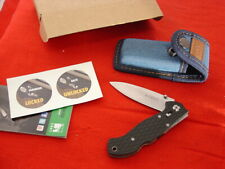 "CRKT Columbia River 4-1/8"" LAKE 111 Side Lock Blade Knife MINT"