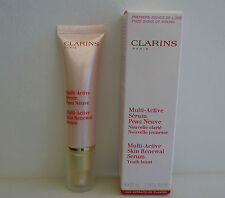 CLARINS Multi-Active Skin Renewal Serum, Youth boost, 30ml, Brand New in Box!!