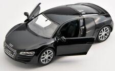 BLITZ VERSAND Audi R8 V10 schwarz / black Welly 1:34 Modell Auto NEU & OVP