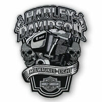 "Harley-Davidson Aufnäher, Emblem ""Milwaukee-Eight* XL *EM255904*"
