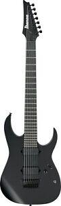 Ibanez RGIXL7 BKF Black Flat 7 String Electric Guitar