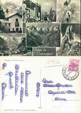 SALUTI DA OURMAYEUR -  VALLE D'AOSTA - VEDUTINE VARIE  (rif.fg..2956)