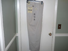 Bugle Boy Mens Khaki Pants Size 40 X 32 Light Khaki Pleated Cuffed NWT