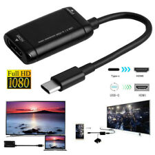 1080P HD Type C to HDMI Adapter USB 3.1 Cable For MHL Android Phone Tablet PC