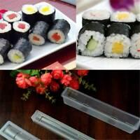 Sushi Roll Maker Making Kit Mold  Rice Roller Mould Kitchen Food SL