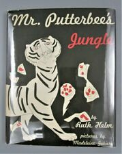 MR. PUTTERBEE'S JUNGLE by Helm & Gekiere - 1953 [1st Ed] Children's book, Kids
