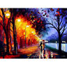 """20""""*16"""" Paint By Number Kit Digital Oil Painting Canvas Street Lights No framed"""