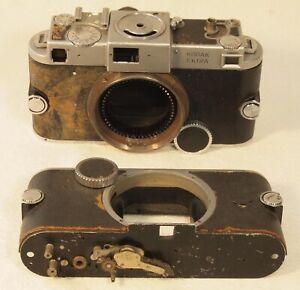 Two KODAK Ektra Rangefinder Camera Bodies for Parts