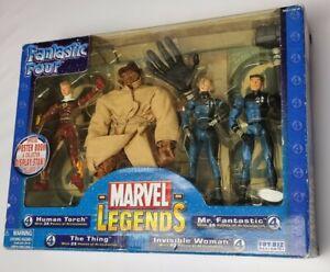 Toybiz Marvel Legends Fantastic Four Box Set 2005 boxed sealed
