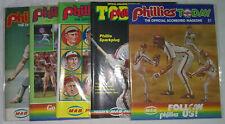 More details for philadelphia phillies offical scorecard magazine x 5, 1980-83-84-85, 1991