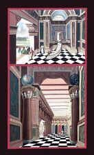 Harris 2nd Degree Tracing Board masonic poster freemason artwork ring