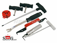 Véhicule pare-brise fenêtre removal tool set chromed steel shafts qualité CT3552