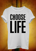 Choose Life Geek Swag Hipster Men Women Unisex T Shirt Tank Top Vest 335