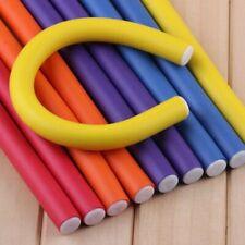 10 pcs/Lot Soft Hair Curler Roller Curl Hair Bendy Rollers DIY Magic Hair Curler