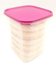 Tupperware Modular Mates Square #5 5.5L Rhubarb Seal Airtight Container Limited