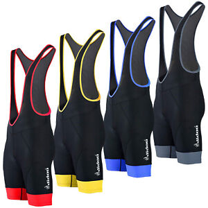 Didoo Men's Cycling Bib Shorts Padded Tights Cycle Pants Pro Quality Race Fit