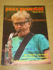 JAZZ JOURNAL INTERNATIONAL VOL 39 #2 1986 FEBRUARY BILL PERKINS LALO SCHIFRIN