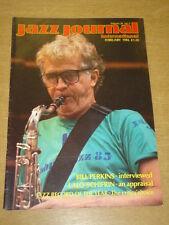 JAZZ JOURNAL INTERNATIONAL VOL 39 #2 1986 FEBRUARY BILL PERKINS LALO SCHIFRIN