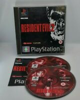 Resident Evil 2 Video Game for Sony PlayStation PS1 PAL TESTED