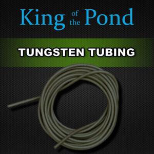 Tungsten Tubing 1m - Dark green - carp fishing, carp rigs, carp tackle