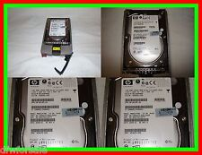 LOT OF 3 HP MAW3147Nc BD14689BB9 146GB 10K RPM SCSI SCSI Hard Drive 404670-002