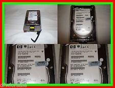 LOT OF 3 HP MAW3147Nc BD14689BB9 146GB 10K RPM SCSI SCSI Hard Drive 404670-002