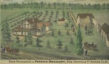 Farm of Patrick Dockery Granville Township Brown Deer Milwaukee County Wisconsin