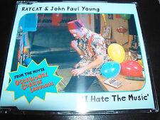 Ratcat & John Paul Young I Hate The Music Rare Australian 5 Track CD Single EP