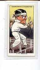 (Js969-100) Churchman,Sporting Celebrities,J.F.Devlin, 1931 #6