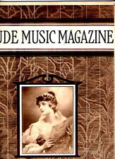 The Etude Music Magazine May 1922 Woman singing cover