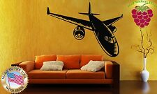 Wall Stickers Vinyl Decal Plane Aircraft Airplane Jet Flight ig843