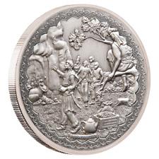 Niue Ali Baba und die 40 Räuber 2019 1 oz 999 Antik Silber Finish Erstausgabe