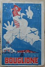 Programme du Cirque Bouglione 1948