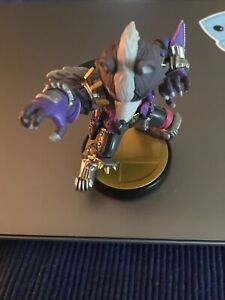 Nintendo Wolf  Amiibo (Pre Owned)