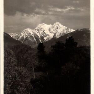 McDonald's Peak Mission Range Mountains Montana 1920 Herman Schnitzmeyer Photo